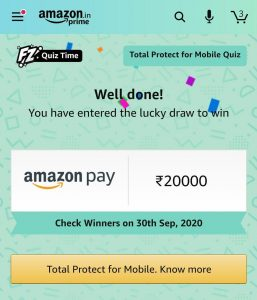 Amazon Total Protect For Mobile Quiz Answers
