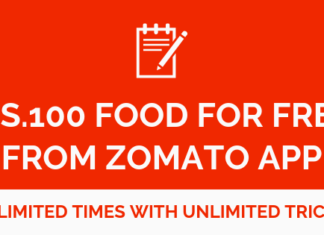Free Food From zomato with unlimited tricks
