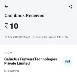 mpl app payment proof