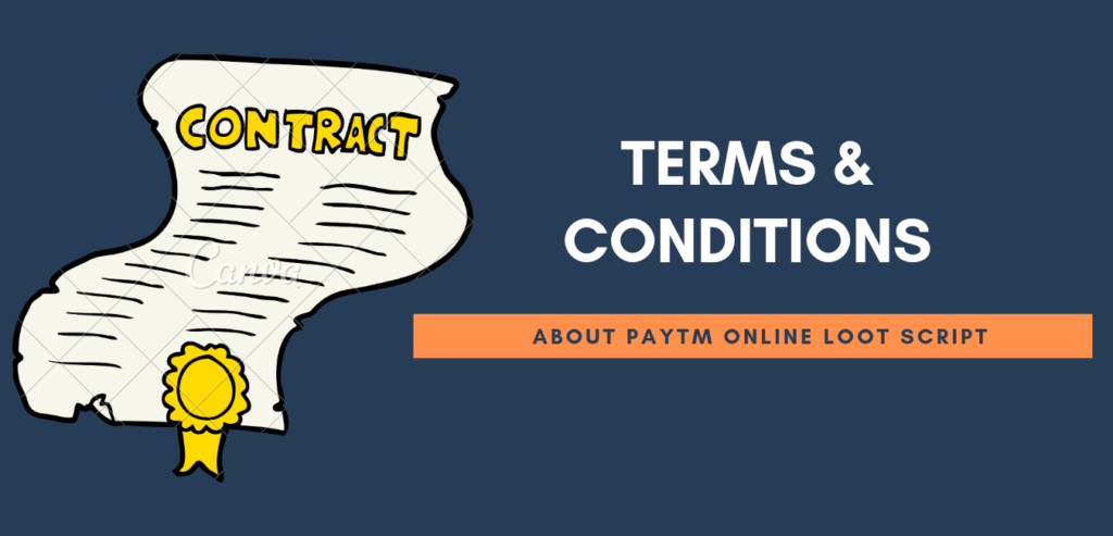 term and condition of paytm gold offer
