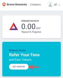 brave browser refer and earn