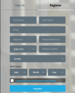 funngage signup form