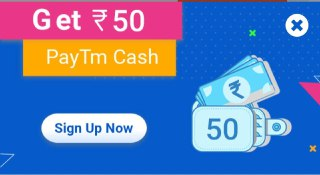 paybox signup and get Rs.50 free paytm cash