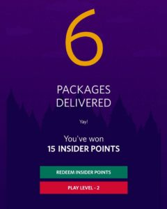myntra santa delivery game